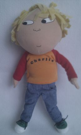 Adorable My 1st Talking 'Charlie' Charlie & Lola Plush Doll